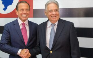 FHC declara voto para João Doria em 2022 pela primeira vez