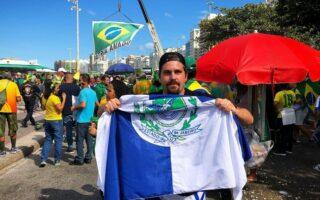 Thiago Gagliasso tem medo de ser confundido com irmão em ato pró-Bolsonaro
