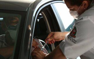 Capital recebe 27 mil doses de vacina de cidades da região metropolitana